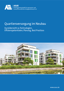 ASUE Fact Sheet: Quartiersversorgung im Neubau